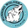 Running wolves